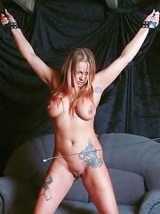 Bound Girl Gets Whipped
